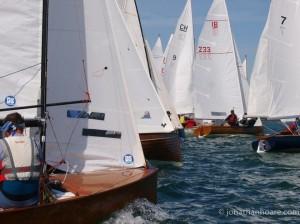Alt_3Close racing at the 2012 Bosham Classic Boat Revival