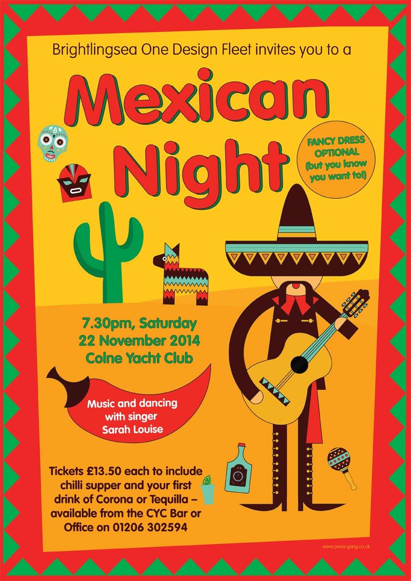 Mexican Fiesta Invitations as awesome invitations layout
